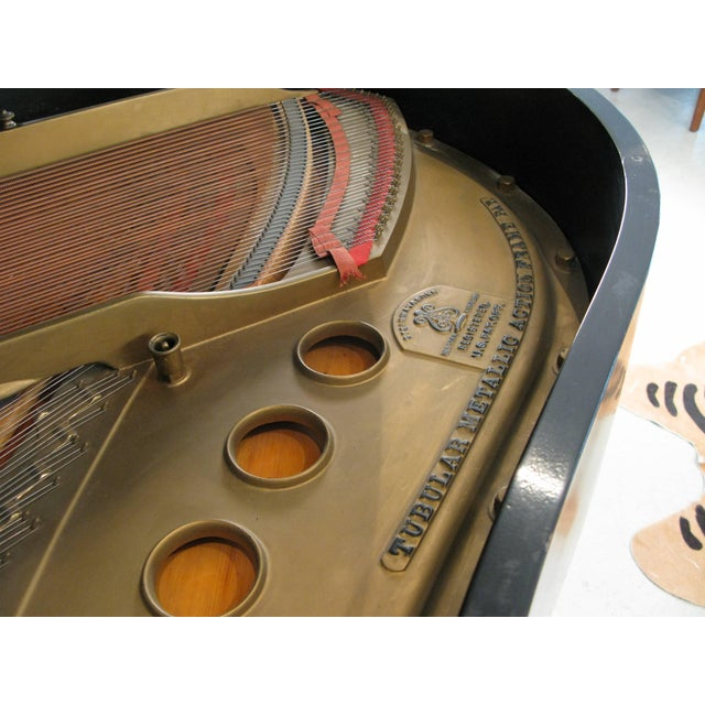 1910s Steinway & Sons 1912 Model M Ebony Piano For Sale - Image 5 of 12