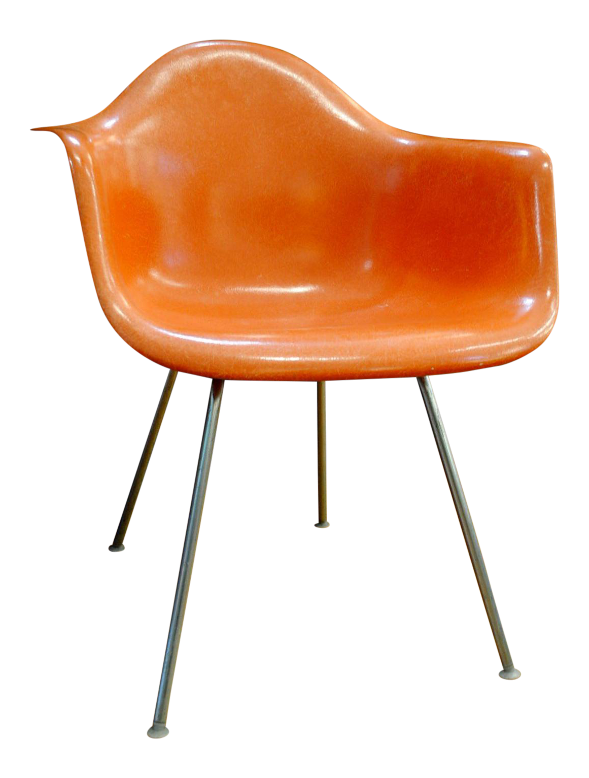 Mid Century Modern Eames For Herman Miller Dax Shell Arm Chair