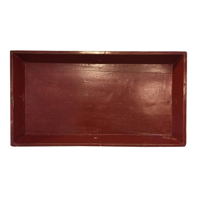 Red Elm Tray For Sale