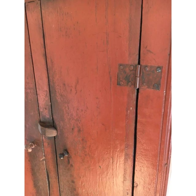 Antique Chinese Elm Cupboard - Image 7 of 7