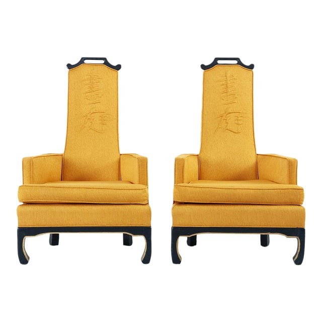 Pair of Chinoiserie Occasional Chairs in the Style of William 'Billy' Haines - Image 1 of 10