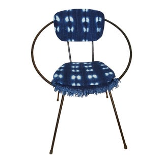 John Hauser 1950s Atomic Bohemian Hoop Chair For Sale