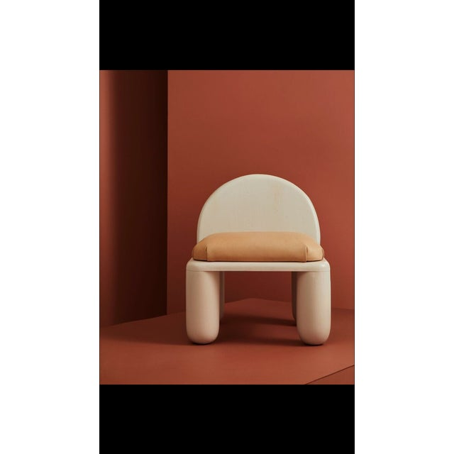Not Yet Made - Made To Order Chubby Lounge Chair For Sale - Image 5 of 5