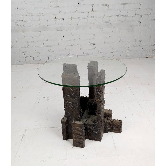 Adrian Pearsall Brutalist Small Coffee or Side Table For Sale - Image 10 of 10