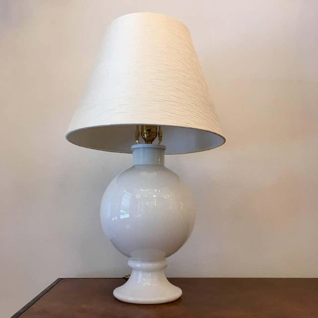 Orrefors 1970s Swedish Glass Table Lamps - A Pair For Sale In New York - Image 6 of 9