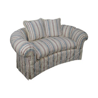 Henredon Robert Allen Channel Back Loveseat