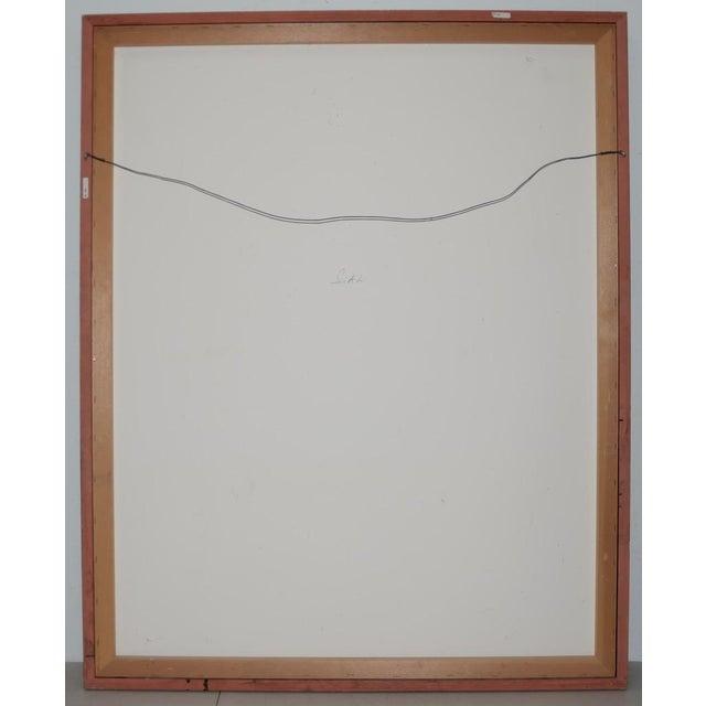 "Morita Haruyo (B. 1945, 森田 春代) ""Natsu N Yo"" Japanese Serigraph C.1980s For Sale - Image 10 of 11"