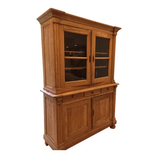 Antique Reconstructed Pine Hutch For Sale