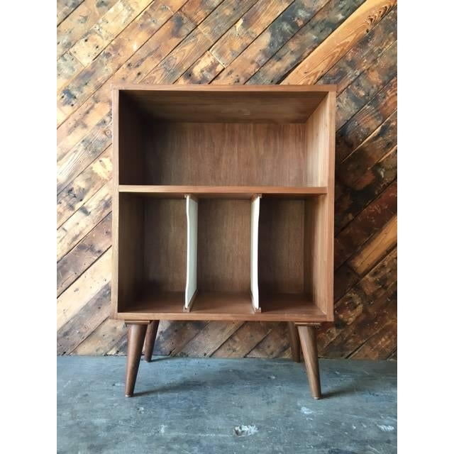 Mid Century Style Mini Credenza Record Stand - Image 2 of 6