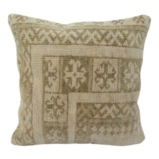Turkish Faded Vintage Pillow Cover For Sale