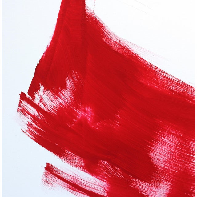 """The Red Dress 6"" Original Artwork by Bettina Mauel For Sale In Los Angeles - Image 6 of 8"