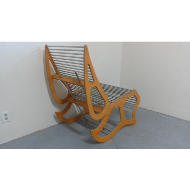 Mid-Century Modern Abstract Chair - Image 5 of 8