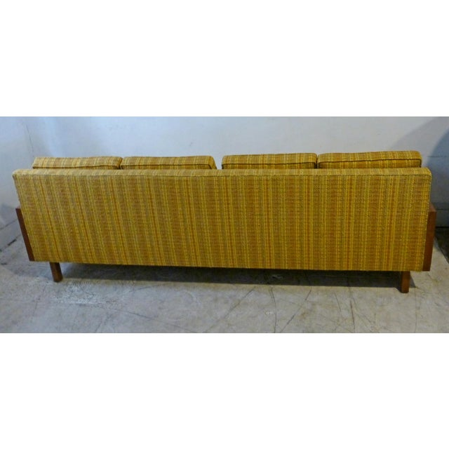 Mid-Century Modern Walnut Couch - Image 7 of 8