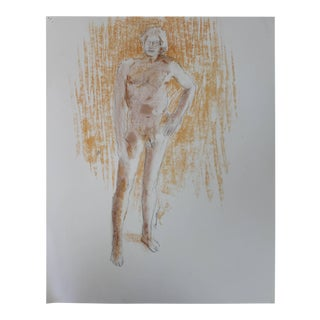 Faralla Nude Drawing, 1980 For Sale