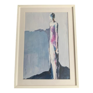 Contemporary Framed Figurative Print For Sale