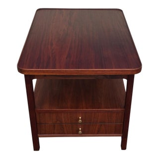 1950s Mid-Century Modern Walnut Side Table by Jack Cartwright for Founders For Sale