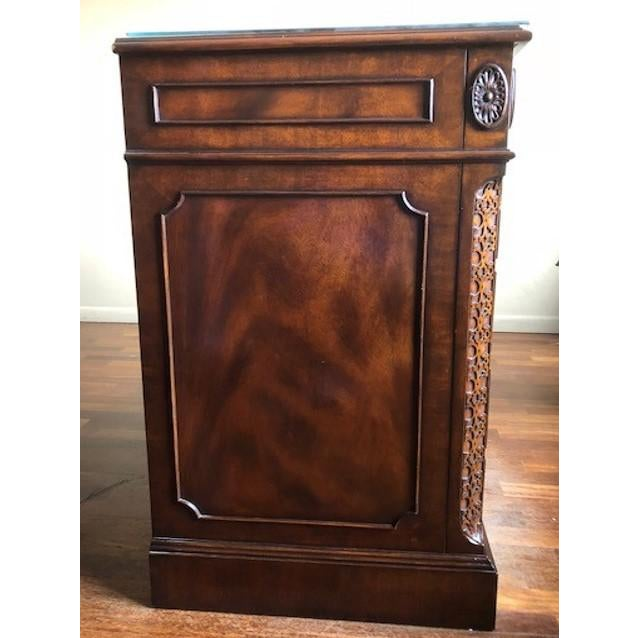 Lloyd Buxton Mahogany Executive File Cabinet For Sale - Image 5 of 7