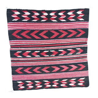 Vintage Navajo Style Rug - 2′6″ × 2′6″ For Sale