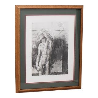 """Trevor Southey (California / Utah, 1940-2015) """"Rising"""" Original Signed Lithograph For Sale"""