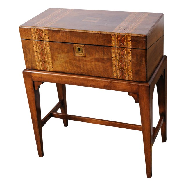 Writing Box on stand For Sale