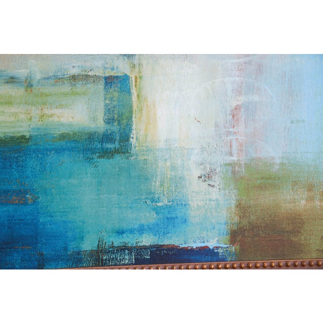 Mid-Century Abstract Oil Painting For Sale - Image 5 of 8