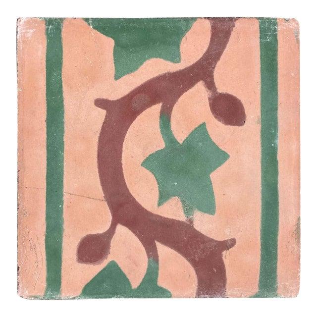 Moroccan Encaustic Cement Tile Sample For Sale