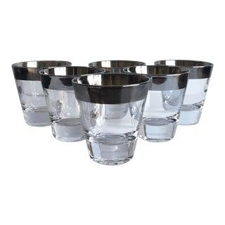 Mid-Century Whiskey Glasses, Set of 6