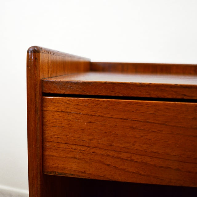 Borge Mogensen Teak Nightstands for Soborg Mobler - a Pair For Sale In Las Vegas - Image 6 of 12
