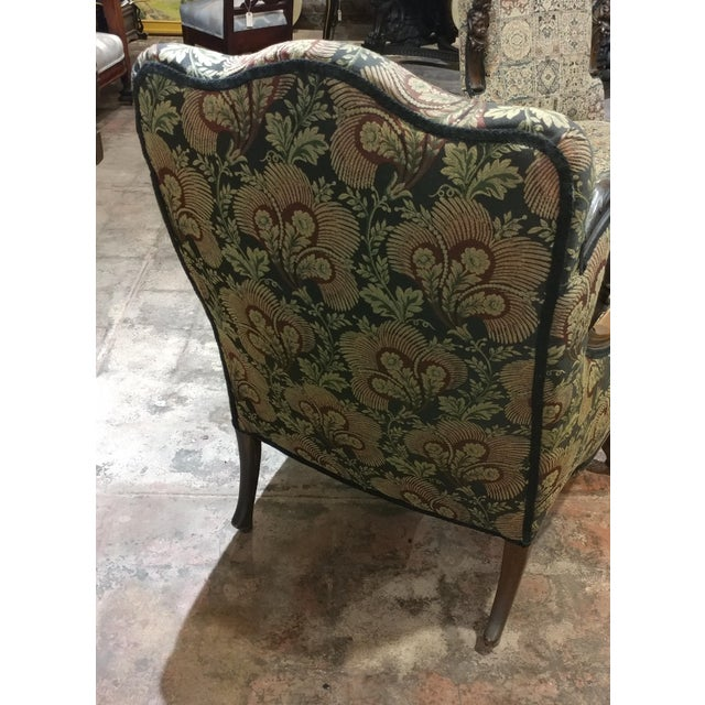 Fabric 19th Century Victorian Tapestry Chairs - Set of 2 For Sale - Image 7 of 10