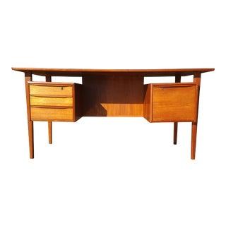 Danish Mid-Century Modern President Desk by Peter Lovig Nielsen For Sale