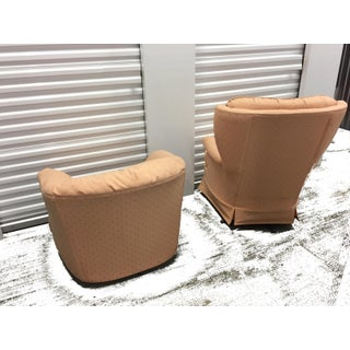 Mid-Century Upholstered Rocker and Lounge Chair - A Pair Preview