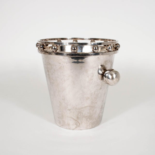 Hollywood Regency Larry Laslo Champagne Bucket For Sale - Image 3 of 11