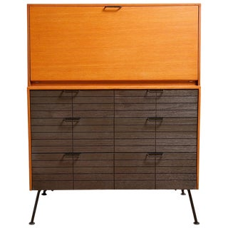 1950s Secretary Desk by Raymond Loewy for Mengel For Sale