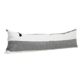 Harbour Island Charcoal Pillow