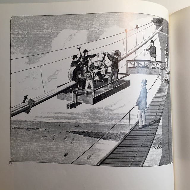 Picture History of the Brooklyn Bridge Book For Sale - Image 9 of 11