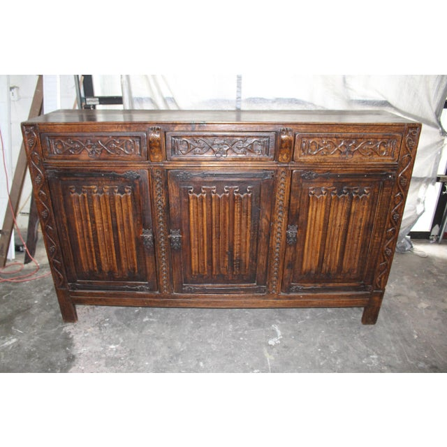 18th Century French Neoclassical Buffet/Sideboard For Sale - Image 12 of 12
