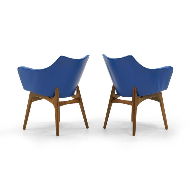 Adrian Pearsall Dining Chairs, Set of Four - Image 4 of 10