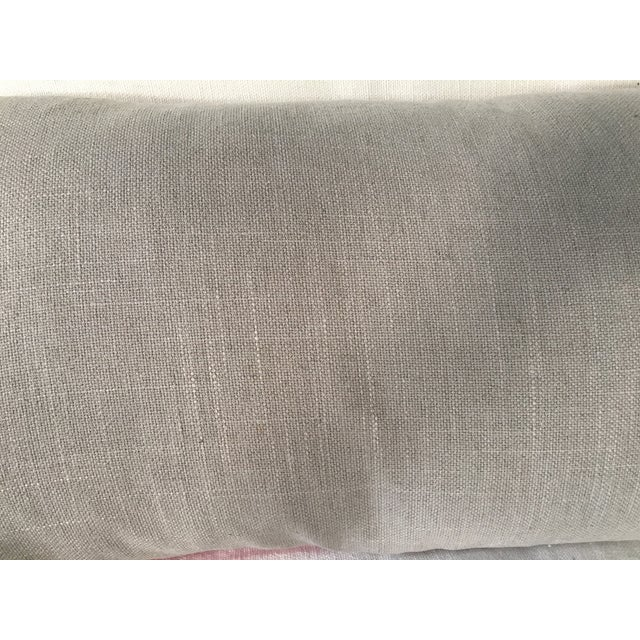 Silk Shibori Lumbar Pillow For Sale - Image 5 of 5