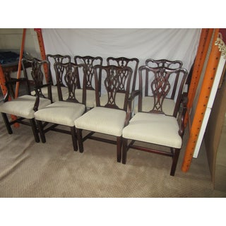 1960's Beacon Hill Mahogany Dining Chairs by Baker- Set of 8 Preview