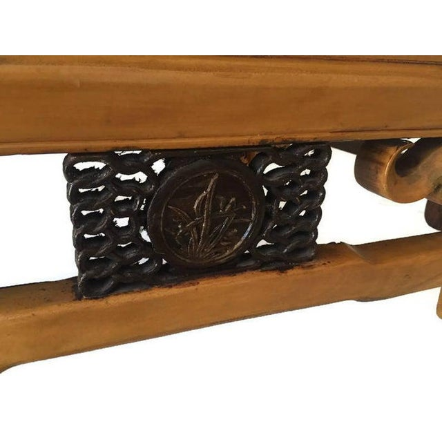 Vintage 1940s Tibetan/Chinese Elm Coffee Table For Sale In Richmond - Image 6 of 13