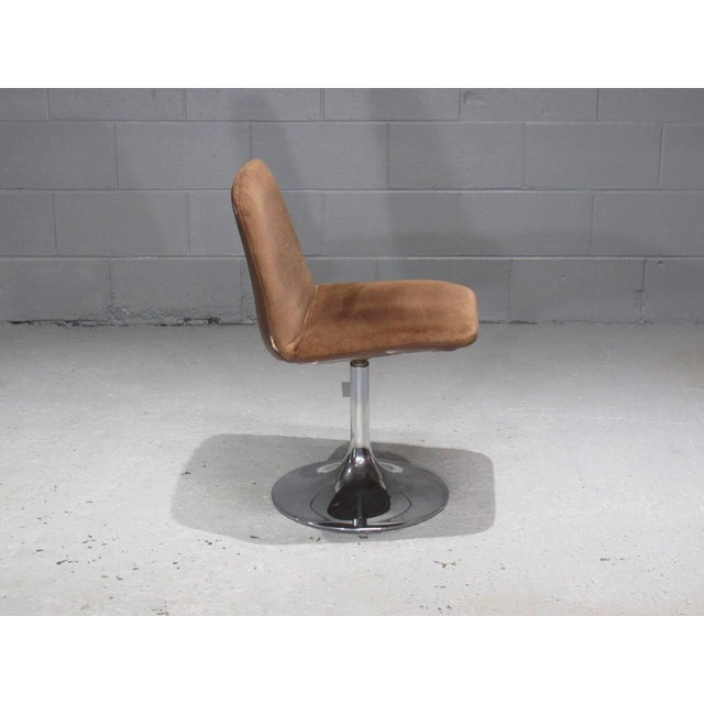 1960s Chrome Tulip Table and Four Dining Chairs by Borje Johanson- Set of 4 For Sale - Image 5 of 9