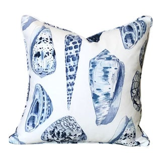 Scalamandre Coquina Designer Pillow Cover 22x22 For Sale