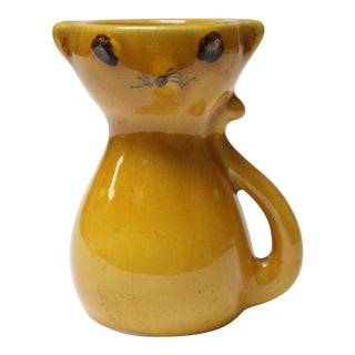 Mid-Century Italian Modern Ceramic 'Mouse' Creamer / Small Pitcher For Sale