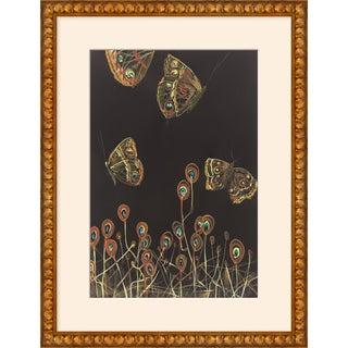 "Medium ""Moth Blossoms"" Print by Alex K. Mason, 20"" X 26"" For Sale"