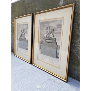 Antique French 17th Century Framed Engravings-A Pair Preview