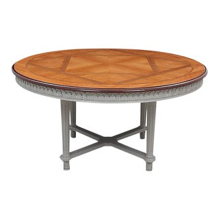 Round French Dining Table