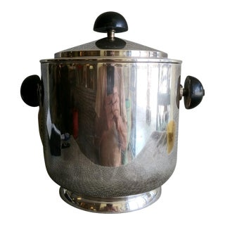 Art Deco WMF Silver Plate Ice Bucket For Sale