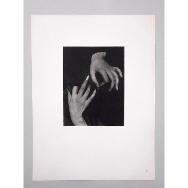 "Ltd. Ed. Vintage Photograph by Alfred Stieglitz (Usa 1864-1946)-"" [Georgia] O'Keefe Hands With Thimble"" For Sale - Image 11 of 11"
