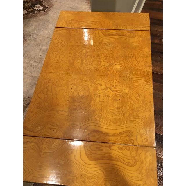 Art Deco Maple Drop-Leaf Table For Sale - Image 6 of 10