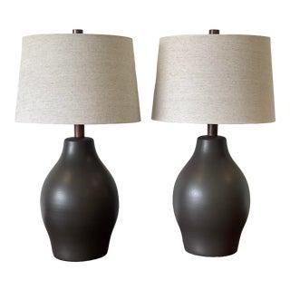 1960s Large Martz Lamps by Jane and Gordon Martz - a Pair For Sale
